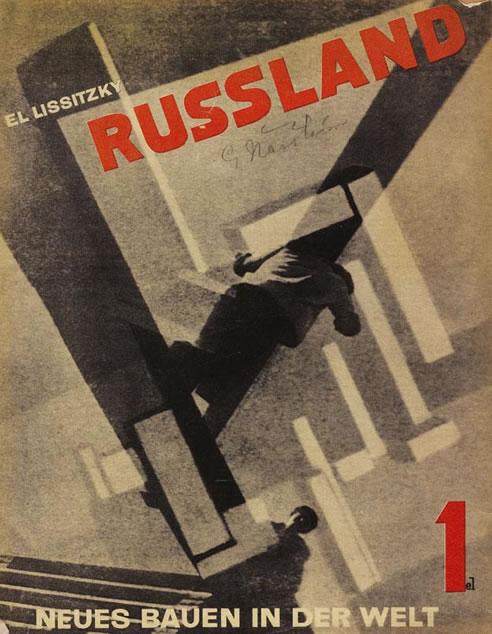 El Lissitzky – Russland Cover(1920)